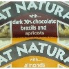Eat Natural Flapjack Peanut Cranberry Milk Chocolate G/F