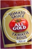 All Gold Tomato Ketchup 700ml S/A