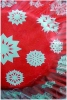 Culpitt Baking Cases Red With White Snowflakes x 54