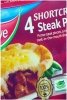 Birds Eye Pies Steak x 4