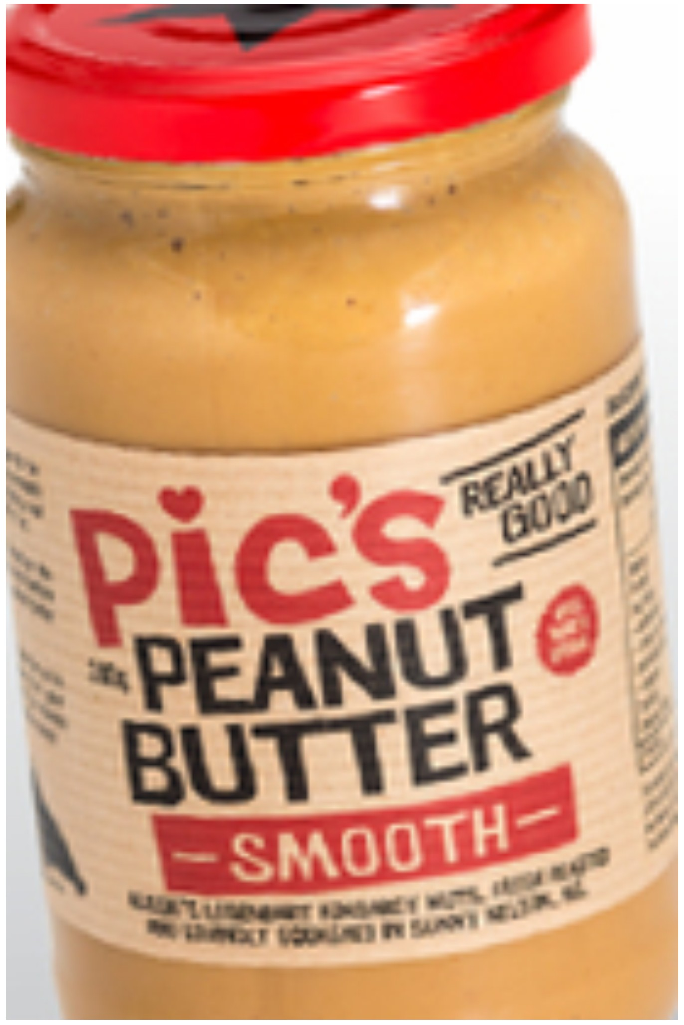 Pic's Peanut Butter Smooth Original 380g ANZ