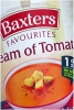 Baxters Favourites Cream Of Tomato 400g V/G