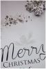 silver snowflakes