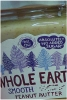 Whole Earth Peanut Butter 227g Smooth O/G