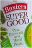 Baxters Super Soup Pea Broccoli & Pesto 400g