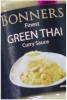 Bonners Thai Green Curry Sauce 270g