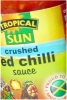 Tropical Sun Crushed Red Chilli Sauce 142ml