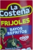 La Costena Refried Pinto Beans 580g