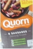Quorn Fresh Sausages x 6