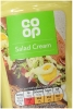 CO OP Salad Cream 470g Squeezy