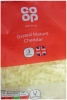 CO OP Cheddar Cheese Grated 200g Mature