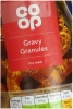 CO OP Gravy Granules For Meat 170g Tub