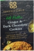 CO OP Cookies Ginger & Dark Chocolate 200g Box
