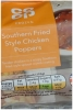 CO OP Southern Fried Chicken Poppers 220g