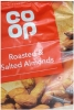 CO OP Nuts Roasted & Salted Almonds 100g Packet