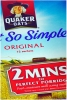 Quaker Oat So Simple Original 20 Sachet Box