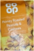 CO OP Nuts Honey Roasted Peanuts & Cashews 200g