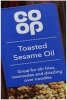 CO OP Toasted Sesame Oil 250ml Glass