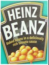 Heinz Beanz - baked beans in a deliciously rich tomato sauce.